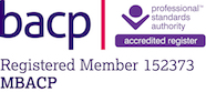 British Association Counselling and Psychotherapy and professional standards register logo